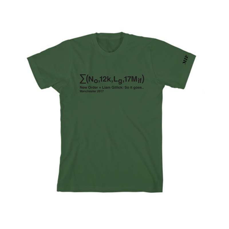 Equation Olive T-Shirt - Liam Gillick & New Order