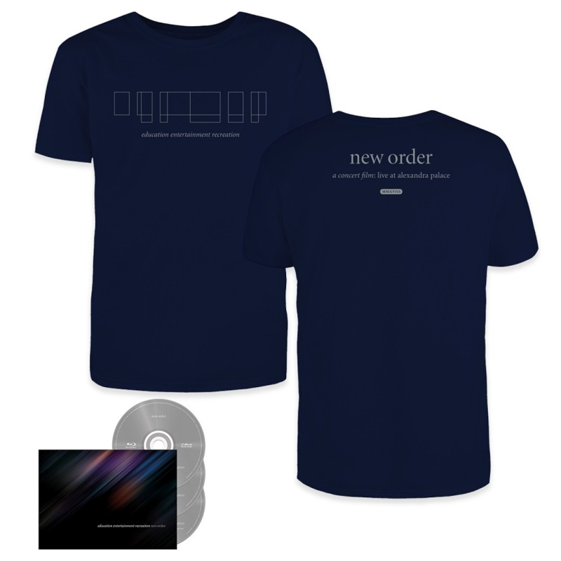 education entertainment recreation 2CD/Blu-ray + T-Shirt