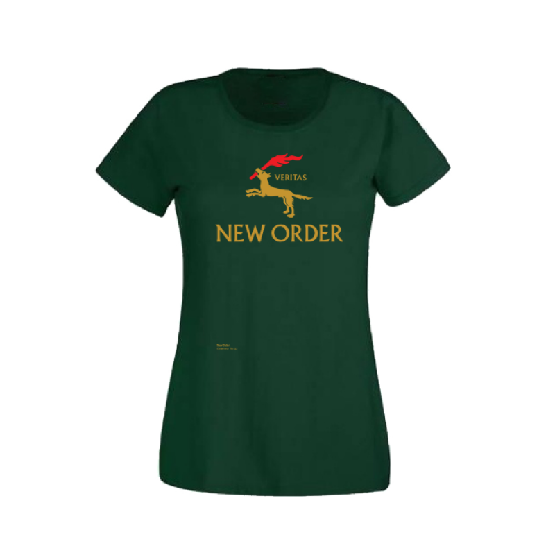 New Order Ceremony Green Ladies T-Shirt
