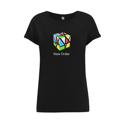Music Complete Cube Ladies Black T-Shirt * Store Exclusive *