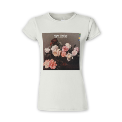 New Order Power Corruption & Lies White Ladies T-shirt