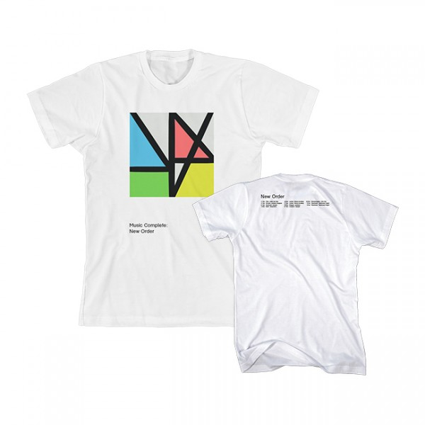 Music Complete White Tour T-Shirt