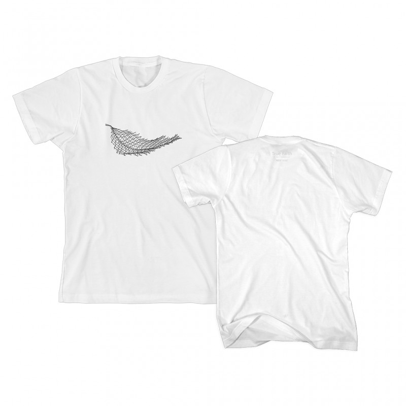 True Faith Embroidered Leaf T-Shirt - New Order Merchandise