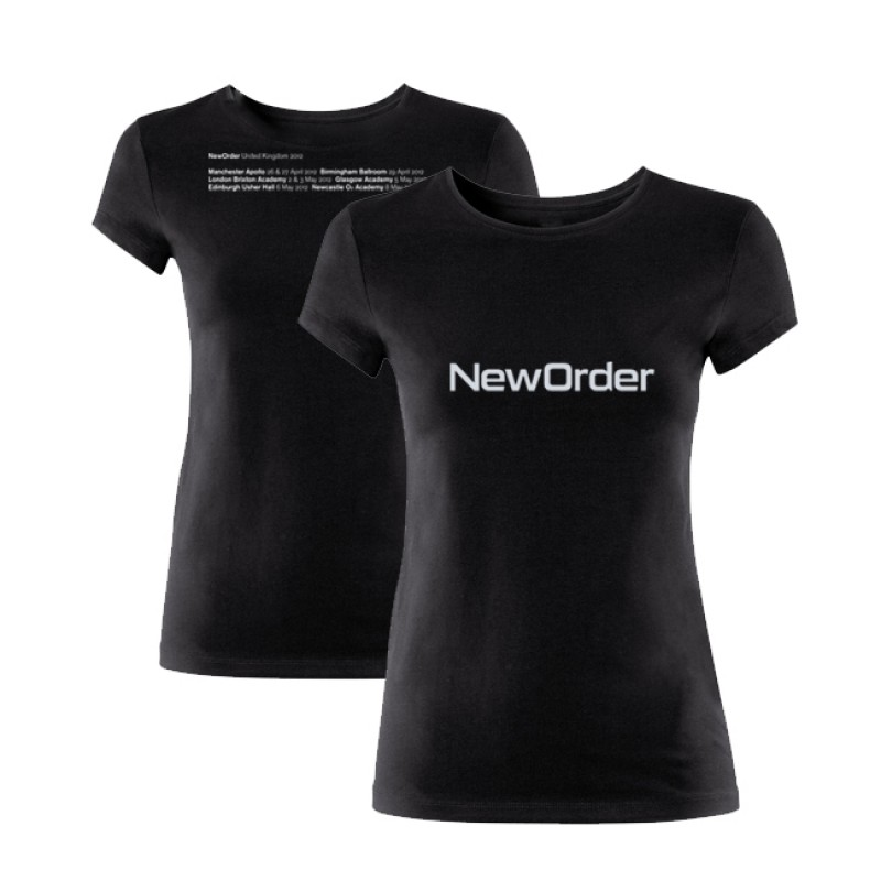 New Order 2012 Tour Ladies T-Shirt