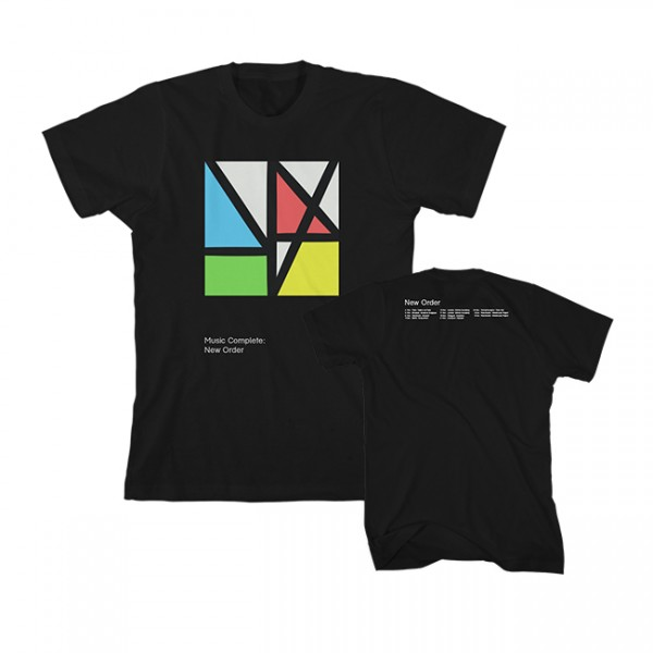 Music Complete Black Tour T-Shirt
