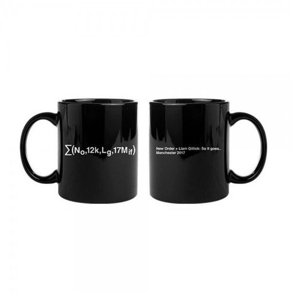 Equation Mug - Liam Gillick & New Order