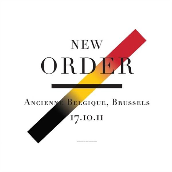 Limited Edition Brussels Print designed by Peter Saville