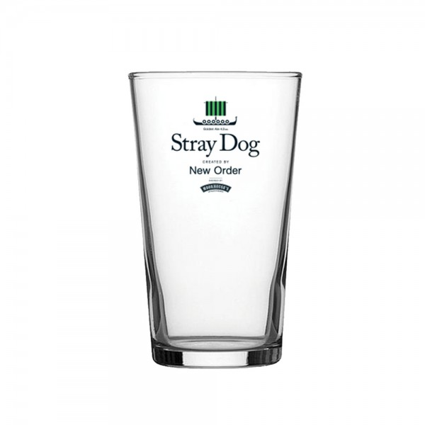 New Order - Stray Dog Pint Glass