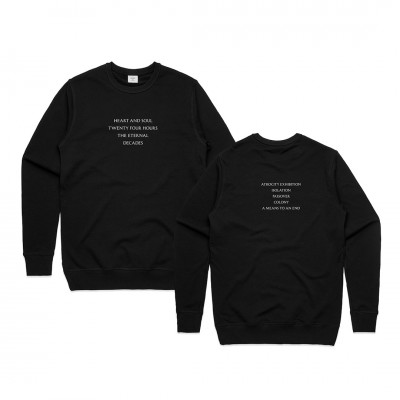 Closer Tracklist Black Sweatshirt (Apparel)
