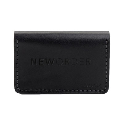 New Order Bifold Leather Wallet