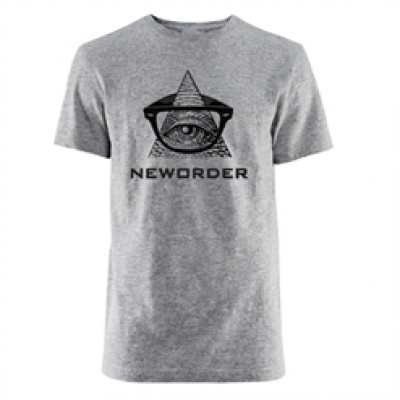 New Order Seeing Eye Grey T-Shirt
