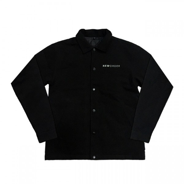 New Order Work Jacket Black