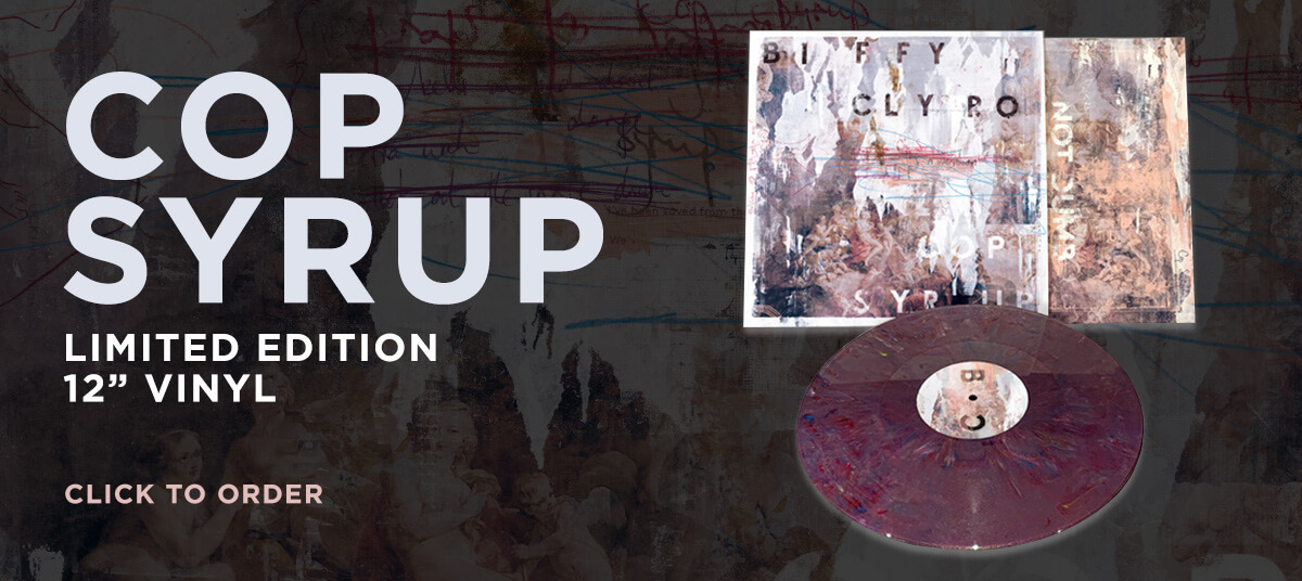 Cop Syrup - Order the limited edition vinyl