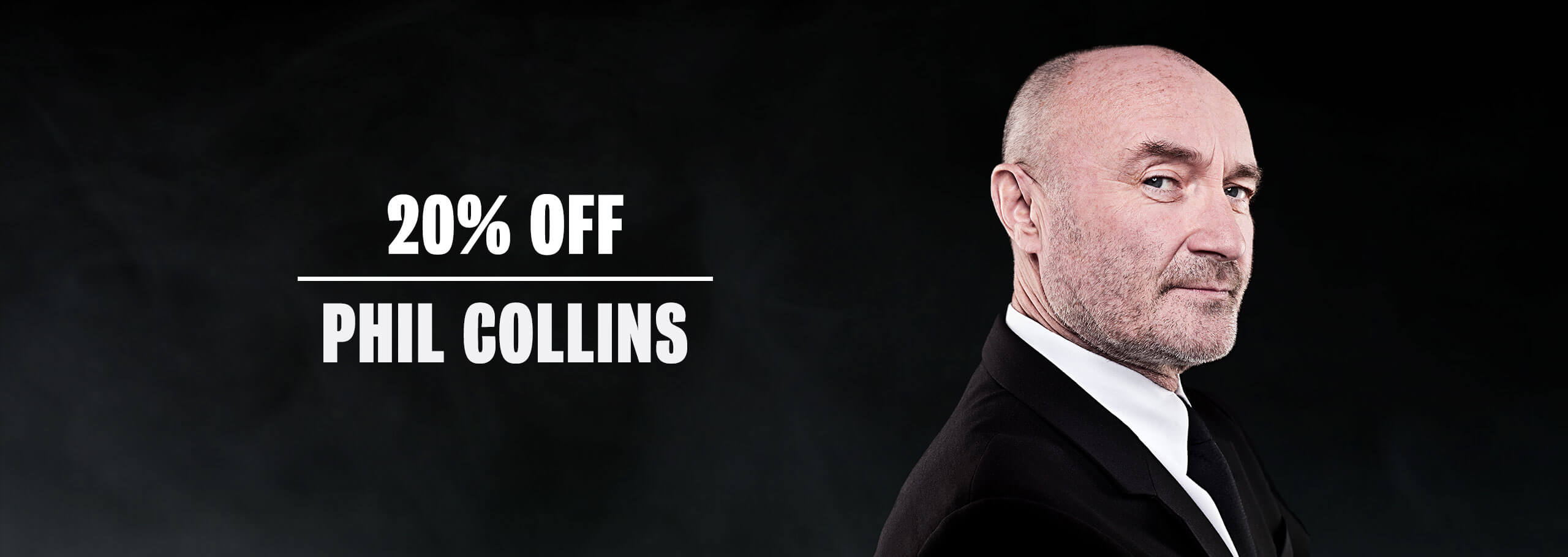 Phile colins sale! 20%