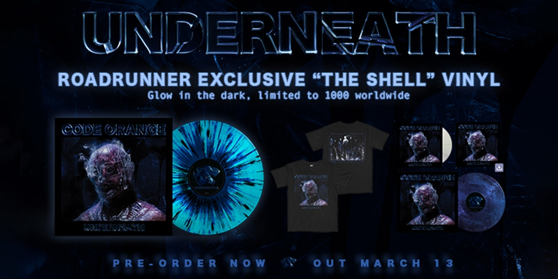 Roadrunner exclusive, the Shell glow in the dark vinyl. Limited to 1000 worldwide