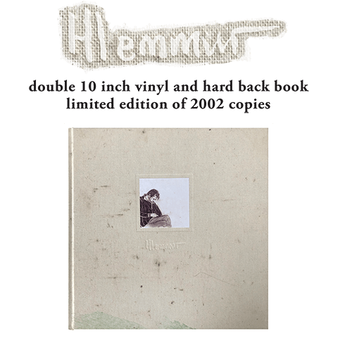 Hlemmur - double 10 inch vinyl and hard back book, limited edition of 2002 copies